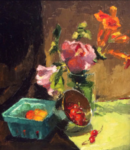 Morning Gifts 10x12 $695 oil