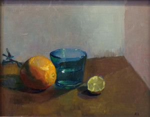 Still Life with Oranges 11x14 $490 oil