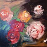 Rainbow Roses 8x10 $150