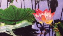 Summer Lotus 24x36 $595