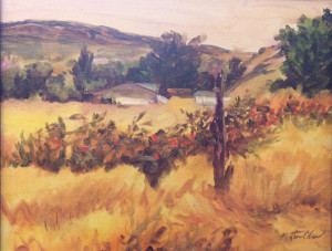 Field of Gold 16x24 $2100