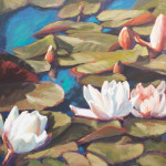 Aqua Flora 36x36