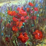 Poppies 30x30
